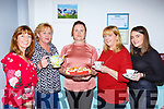 Danielle Graland, Una Sheehan, Annette Garland, Maria Coffey and Geraldine O'Sullivan enjoying the Coffee morning in the aid of the Irish Cancer Society in the Old Creamery restaurant Listry on Friday