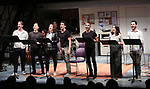 "Cast of ""Eighty-Sixed"" during the 2018 Presentation of New Works by the DGF Fellows on October 15, 2018 at the Playwrights Horizons Theatre in New York City."