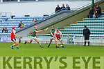 Action from Crotta O'Neills v Kenmare Kilgarvan in the U21 Hurling Championship semi final in Austin Stacks Park on Sunday.