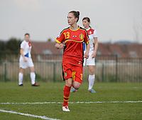 Women U15 : Belgian Red Flames - Nederland :<br /> <br /> Gwen Duijters<br /> <br /> foto Dirk Vuylsteke / Nikonpro.be