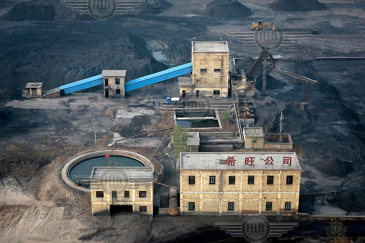A mineral collection factory in Linzhou. /Felix Features