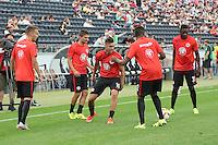 Vaclav Kadlec in der Mitte - Eintracht Frankfurt vs. FC Tokyo, Frankfurt Finance Cup, Commerzbank Arena