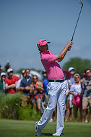 Matt Jones (AUS) watches his tee shot on 8 during round 4 of the AT&T Byron Nelson, Trinity Forest Golf Club, Dallas, Texas, USA. 5/12/2019.<br /> Picture: Golffile   Ken Murray<br /> <br /> <br /> All photo usage must carry mandatory copyright credit (© Golffile   Ken Murray)