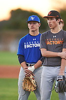 William Thompson (52), from Haiku, Hawaii, while playing for the Dodgers during the Under Armour Baseball Factory Recruiting Classic at Gene Autry Park on December 27, 2017 in Mesa, Arizona. (Zachary Lucy/Four Seam Images)