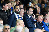 Leeds United's director of football Victor Orta and CEO Angus Kinnear watches on<br /> <br /> Photographer Alex Dodd/CameraSport<br /> <br /> The EFL Sky Bet Championship - Leeds United v Birmingham City - Saturday 19th October 2019 - Elland Road - Leeds<br /> <br /> World Copyright © 2019 CameraSport. All rights reserved. 43 Linden Ave. Countesthorpe. Leicester. England. LE8 5PG - Tel: +44 (0) 116 277 4147 - admin@camerasport.com - www.camerasport.com