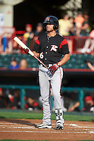 Richmond Flying Squirrels right fielder Hunter Cole (6) during a game against the Erie SeaWolves on May 27, 2016 at Jerry Uht Park in Erie, Pennsylvania.  Richmond defeated Erie 7-6.  (Mike Janes/Four Seam Images)