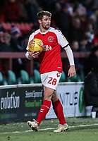 Fleetwood Town's Jack Sowerby  <br /> <br /> Photographer Andrew Kearns/CameraSport<br /> <br /> The EFL Sky Bet League One - Fleetwood Town v Charlton Athletic - Saturday 2nd February 2019 - Highbury Stadium - Fleetwood<br /> <br /> World Copyright © 2019 CameraSport. All rights reserved. 43 Linden Ave. Countesthorpe. Leicester. England. LE8 5PG - Tel: +44 (0) 116 277 4147 - admin@camerasport.com - www.camerasport.com