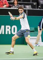 14-02-13, Tennis, Rotterdam, ABNAMROWTT, Gilles Simon