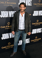 Zach McGowan at the premiere of &quot;John Wick Chapter Two&quot; at the Arclight Theatre, Hollywood. <br /> Los Angeles, USA 30th January  2017<br /> Picture: Paul Smith/Featureflash/SilverHub 0208 004 5359 sales@silverhubmedia.com
