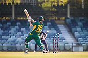 4th October 2017, WACA Ground, Perth, Australia; 2017 JLT One Day Cup, Tasmania versus Victoria; Tasmanian Tigers Simon Milenko is bowled