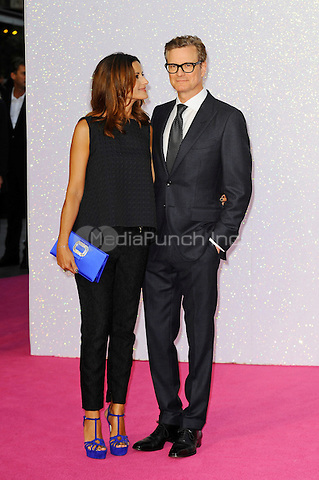 LONDON, ENGLAND - SEPTEMBER 5: Livia Firth and Colin Firth attending the World Premiere of 'Bridget Jones's Baby' at Odeon Cinema, Leicester Square on September 5, 2016 in London, England.<br /> CAP/MAR<br /> &copy;MAR/Capital Pictures /MediaPunch ***NORTH AND SOUTH AMERICAS ONLY***