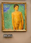 Thorvald Erichsen  (1868-1939) 'Naked Boy' 1903, oil on canvas, Kode 3 art gallery Bergen, Norway