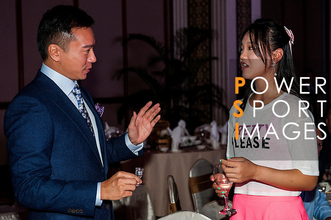 Guest attends the Pro-am Gala Dinner during the Hyundai China Ladies Open 2014 on December 10 2014, in Shenzhen, China. Photo by Xaume Olleros / Power Sport Images