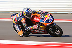 Arthur Sissis (61) in action during the Red Bull MotoGP of the Americas practice session at Circuit of the Americas racetrack in Austin,Texas. ..