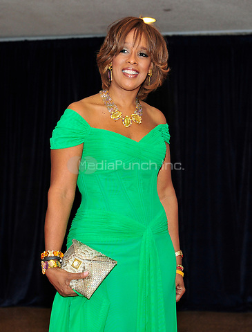 Gayle King arrives for the 2013 White House Correspondents Association Annual Dinner at the Washington Hilton Hotel on Saturday, April 27, 2013.<br /> Credit: Ron Sachs / CNP<br /> (RESTRICTION: NO New York or New Jersey Newspapers or newspapers within a 75 mile radius of New York City) /MediaPunch