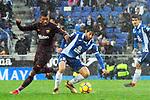 League Santander 2017-2018 - Game: 22.<br /> RCD Espanyol vs FC Barcelona: 1-1.<br /> Paulinho vs Granero.