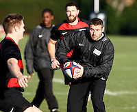 Photo: Richard Lane/Richard Lane Photography. Heroes Rugby Challenge in aid of Help for Heros North training at Wasps training ground, Twyford Avenue.  30/11/2011. Ben Cohen.