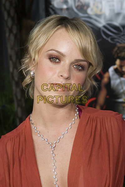 "TARYN MANNING .At the ""Hustle & Flow"" Los Angeles Film Premiere,.held at the Arclight Cinerama Dome, .Hollywood, California, USA, 20th July 2005..portrait headshot silver y necklace.Ref: ADM.www.capitalpictures.com.sales@capitalpictures.com.©Zach Lipp/AdMedia/Capital Pictures."