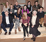 The Cast- front row: Chris Perfetti, Elizabeth Marvel, Maggie Grace, Ellen Burstyn, Ben Rappaport.Back row: Cassie Beck,Maddie Corman, Reed Birney, Madeleine Martin, Mare Winningham & Sebastian Stan attending the Meet & Greet for the Roundabout Theatre Company's 'Picnic' at their rehearsal studios  in New York City. November 29, 2012.