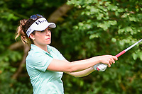 Gaby Lopez (MEX) watches her tee shot on 11 during Friday's round 2 of the 2017 KPMG Women's PGA Championship, at Olympia Fields Country Club, Olympia Fields, Illinois. 6/30/2017.<br /> Picture: Golffile | Ken Murray<br /> <br /> <br /> All photo usage must carry mandatory copyright credit (&copy; Golffile | Ken Murray)