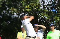 Rafa Cabrera Bello (ESP) tees off the 16th tee during Friday's Round 2 of the 2017 PGA Championship held at Quail Hollow Golf Club, Charlotte, North Carolina, USA. 11th August 2017.<br /> Picture: Eoin Clarke | Golffile<br /> <br /> <br /> All photos usage must carry mandatory copyright credit (&copy; Golffile | Eoin Clarke)