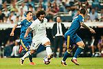 Marcelo Vieira da Silva of Real Madrid in action during their La Liga match at the Santiago Bernabeu Stadium between Real Madrid and RC Celta de Vigo on 27 August 2016 in Madrid, Spain. Photo by Diego Gonzalez Souto / Power Sport Images
