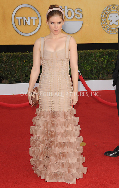 WWW.ACEPIXS.COM . . . . . ....January 30 2011, Los Angeles....Actress Kate Mara arriving at the 17th Annual Screen Actors Guild Awards held at The Shrine Auditorium on January 30, 2011 in Los Angeles, CA....Please byline: PETER WEST - ACEPIXS.COM....Ace Pictures, Inc:  ..(212) 243-8787 or (646) 679 0430..e-mail: picturedesk@acepixs.com..web: http://www.acepixs.com