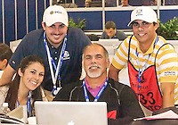 28 SEP 12  Its a family affair for Tom Auclair at The 39th Ryder Cup at The Medinah Country Club in Medinah, Illinois.