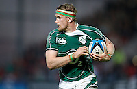 Photo: Richard Lane/Richard Lane Photography. .Barbarians v Ireland. The Gartmore Challenge. 27/05/2008. Ireland's Jamie Heaslip breaks for a try..