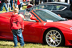 The Children's Trust Dads Day Out helt at Dunsfold Park , 14th May 2011. Passengers pay to be a passenger in their favourite supercars and all proceeds go to the charity