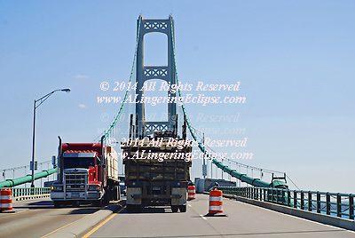 Mackinac Bridge Upper Peninsula MI