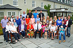 ANNIVERSARY: Mary and Dan Prendergast Boolteen,Castlemaine, who celebrated their golden Jubilee at Ballyygarry House Hotel & Spa, Tralee on Thursday with their family.