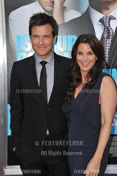 "Jason Bateman & Amanda Anka at the Los Angeles premiere of his new movie ""Horrible Bosses"" at Grauman's Chinese Theatre, Hollywood..June 30, 2011  Los Angeles, CA.Picture: Paul Smith / Featureflash"