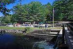 Songo Lock, Naples, Maine, USA