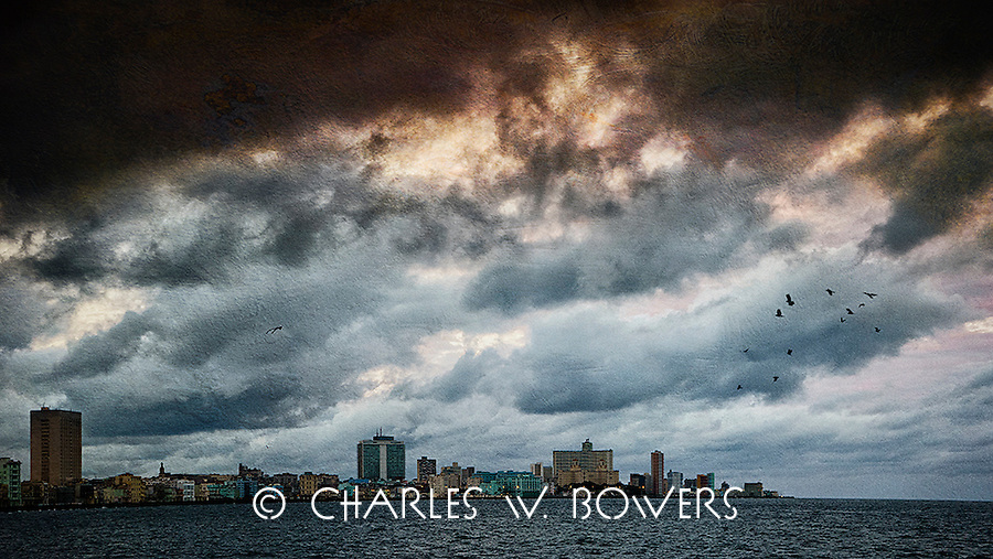 Storm over the Malecon <br />