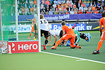 The Hague, Netherlands, June 06: During the field hockey group match (Men - Group B) between Germany and The Netherlands on June 6, 2014 during the World Cup 2014 at Kyocera Stadium in The Hague, Netherlands. Final score 0-1 (0-1) (Photo by Dirk Markgraf / www.265-images.com) *** Local caption ***