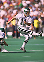 Philadelphia Eagles Matt Bahr (11) during a game  from his 1993 season. Matt Bahr played for 19 years with 6 different team and played on 3 Super Bowl winning teams(SportPics)