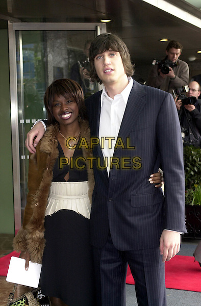 JUNE SARPONG & VERNON KAYE.arrive at the Pride Of Britain awards, the Hilton Hotel.www.capitalpictures.com.sales@capitalpictures.com.© Capital Pictures
