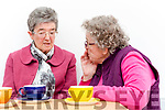 Mary Ryle Chairperson and Pauline Fleming enjoying tea and the chat at the Killarney Active retire on Friday