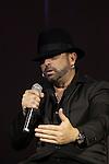 Spanish flamenco singer Jose Luis Figuereo Franco `El Barrio´ during the presentation of his new album `Esencia´ in Madrid, Spain. November 03, 2015. (ALTERPHOTOS/Victor Blanco)