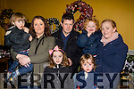 Christmas gifts<br /> --------------------<br /> Enjoying the Annual Christmas Bazaar in the Ballyheigue community centre last Sunday evening were L-R James, Michelle, Misha&amp; Seamus Corr with Catherine, Sony and Noah O'Sullivan.