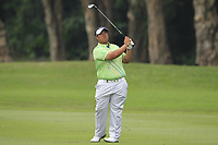 Kiradech Aphibarnrat (THA) on the 10th fairway during Round 4 of the UBS Hong Kong Open, at Hong Kong golf club, Fanling, Hong Kong. 26/11/2017<br /> Picture: Golffile | Thos Caffrey<br /> <br /> <br /> All photo usage must carry mandatory copyright credit     (&copy; Golffile | Thos Caffrey)