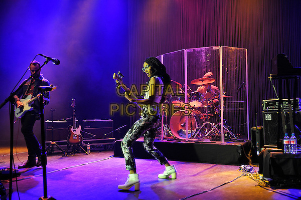 LONDON, ENGLAND - NOVEMBER 2: Esperanza Spalding performing at Shepherd's Bush Empire on November 2, 2015 in London, England.<br /> CAP/MAR<br /> &copy; Martin Harris/Capital Pictures