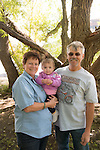 Stockey family portrait at Flatiron Reservoir, Loveland, Colorado, USA