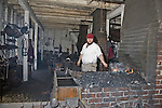 Blacksmith's workshop at Colonial Williamsburg, Virginia.