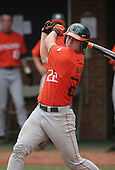 Jason Hagerty of the Miami Hurricanes vs. the Virginia Cavaliers: March 24th, 2007 at Davenport Field in Charlottesville, VA.  Photo copyright Mike Janes Photography 2007.