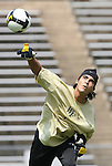 31 August 2008: Wake Forest's Akira Fitzgerald. The Wake Forest University Demon Deacons defeated the Florida International University Panthers 3-0 at Fetzer Field in Chapel Hill, North Carolina in an NCAA Division I Men's college soccer game.