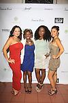 Samantha von Sperling - Delaina Dixon - Maureen Tokeson-Martin - Soo Jin Kin at Samantha Black Fashion Show - NYC Fashion Week - September 7, 2013 - New York City, NY (Photo by Sue Coflin/Max Photos)