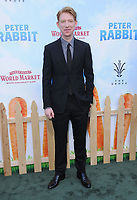 03 February 2018 - Los Angeles, California - Domhnall Gleeson. &quot;Peter Rabbit&quot; Los Angeles Premiere held at The Grove. <br /> CAP/ADM/BT<br /> &copy;BT/ADM/Capital Pictures