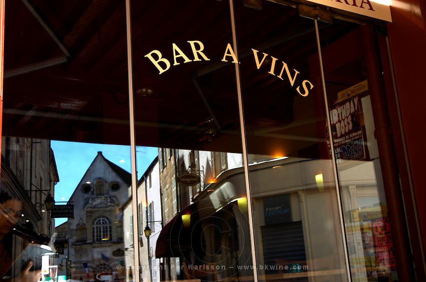 bar a vin wine bar  r carnot beaune cote de beaune burgundy france